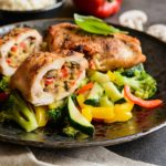 Roasted Chicken Breasts Stuffed With Mushrooms Recipe